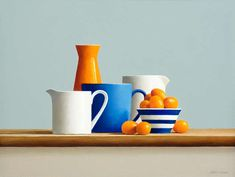 Gallery Henoch Artist Janet Rickus paints realist still life oil paintings of fruits and vegetables in natural light. Still Life Drawing, Painting Still Life, Still Life Art, Fruit Photography, Still Life Photography, Drawing For Kids, Painting For Kids, Fruit Painting, Painting Clouds