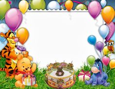 Kids Birthday Frame