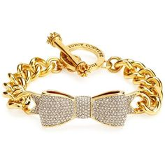 Juicy Couture Pave Bow Link Bracelet and other apparel, accessories and trends. Browse and shop 8 related looks.