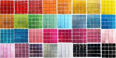 collection of Crystal Glitter Tiles 16 tiles in swatch on mesh Glitter Tiles, Glass Mosaic Tiles, Swatch, Mad, Company Logo, Collections, Crystals, Sparkle Tiles, Crystal