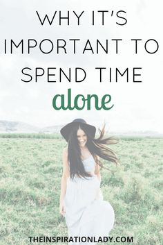 In today's world, we're connected to others more than ever. And that's great; but it's still important that we're spending time alone. Here's why!