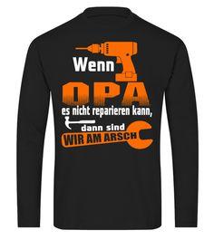 OPA REPARIEREN - T-shirt