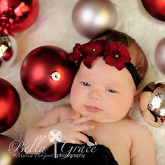Baby's 1st Christmas Photo idea