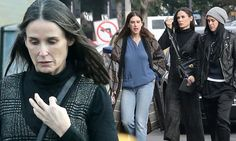 Demi Moore and daughters celebrate Tallulah's birthday in Los Angeles