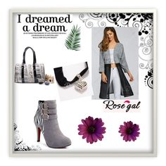 """Rosegal 10 #women style#"" by zina-lami ❤ liked on Polyvore featuring Nika"