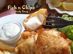 Aunty Young(安迪漾): 英式炸鱼柳薯条( Fish n Chips)