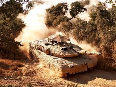 Danish Leopard 2A5DK with Saab Barracuda Mobile Camouflage System (MCS)