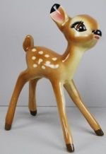 "Disney American Pottery Shaw 1940s Bambi 7"" Ceramic Figure"