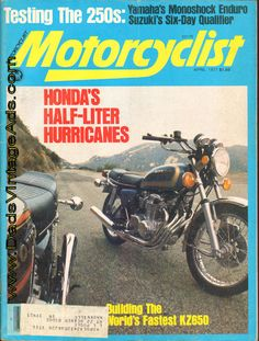 1977 Honda's Half-Liter Hurricanes – CB550K or CB550F? – what's the diff?