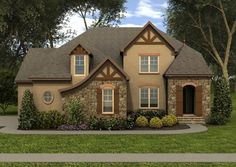 Plan #413-888 - Houseplans.com