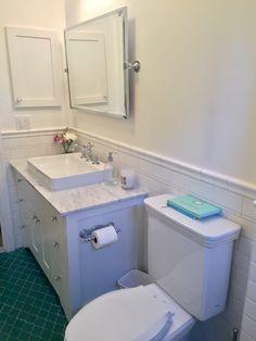Kohler Vox Above Counter Sink And Higher Backsplash