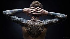 創新的幾何紋身靈感