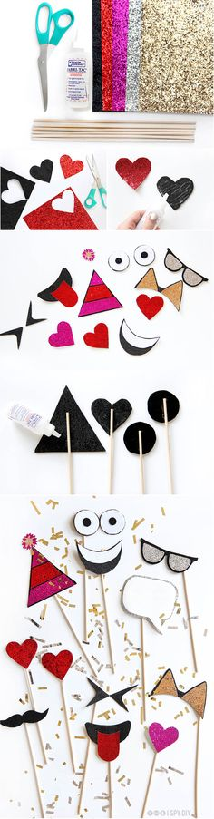 DIY | photo props | #letscelebrate