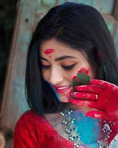 Holi Festival Of Colours, Holi Colors, Holi Pictures, Girl Pictures, Stylish Girls Photos, Stylish Girl Pic, Cute Girl Photo, Girl Photo Poses, Holi Girls
