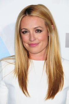 Cat Deeley - Straight hairstyles