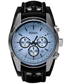 Gave Fossil Herenhorloge Chronograaf & Blauwe wijzerplaat Fossil Watches For Men, Cool Watches, Men's Watches, Wrist Watches, Watches Online, Brown Leather Watch, Bracelet Cuir, Casual Watches, Sport Watches