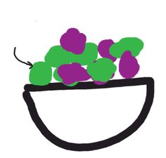 #grapes #drawfree