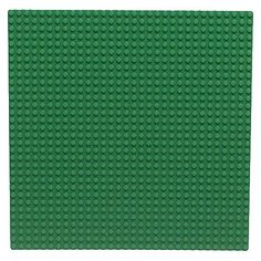 "want to get a cpl of these to make the kids some cool lego building tables :) LEGO Bricks & More Large Green Baseplate Accessory (0626) -  LEGO - Toys""R""Us"
