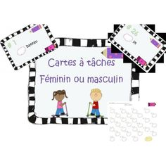 Féminin ou masculin Classroom Management Tips, Classroom Organization, French Grammar, Core French, French Classroom, French Resources, French Immersion, Grammar And Vocabulary, Teaching French