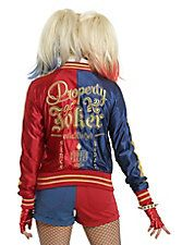 DC Comics Suicide Squad Harley Quinn Girls Bomber Jacket Pre-Order, RED