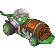 Corporal Pig with his Dragster Snout
