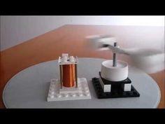 LEGO Style Modular Levitating Rotor Engine - YouTube Lego Mindstorms, Lego Brick, Motor, Engineering, Toys, Youtube, Free, Style, Magnets