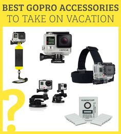 Best GoPro Accessories to Take On Vacation