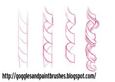 draw ringlets - Google Search