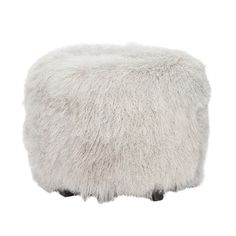 Buy Tibetan Lamb Ottoman by Michael Dawkins Home - Made-to-Order designer Furniture from Dering Hall's collection of Contemporary Mid-Century / Modern Ottomans & Poufs