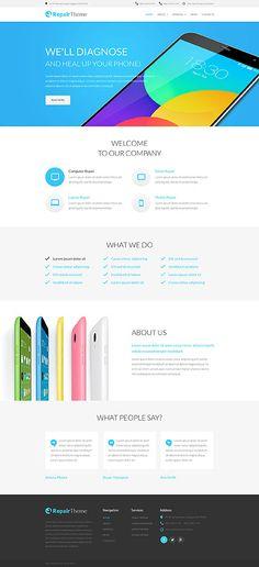 summer trip website template