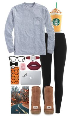 Day 4// Car Ride to San Francisco by dailyprepp ❤ liked on Polyvore featuring Polo Ralph Lauren, Vineyard Vines, UGG Australia, Vinyl Revolution, Casetify, Lime Crime, Eos, Burberry and madimadsfall2k16