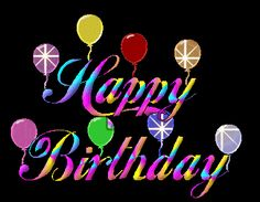 Animated Happy Birthday Glitter GIFs And Images