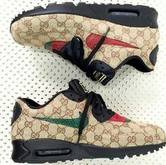 53 Top Street High Heels For Ending Your Winter - Gucci Sneakers - Ideas of Gucci Sneakers - Adorable Casual Shoes Sneakers Fashion, Fashion Shoes, Shoes Sneakers, Gucci Sneakers, Sneakers Nike Jordan, Lacoste Sneakers, Sneakers Adidas, Adidas Nmd, Stylish Clothes