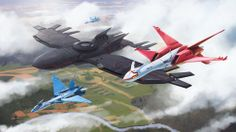 Three Pokémon: Latias, Latios and Kyogre, as modern aircrafts? That makes the Kalos Region Air Force