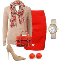 Fall Work Look ~ I am really going to try to dress like this at work...maybe not so high a heel but this is nice:)