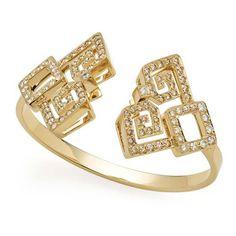 Pulseira de ouro amarelo 18K com diamantes brancos e cognac http://m.hstern.com.br/joia/pulseira/jogo-de-cartas/P2B202391