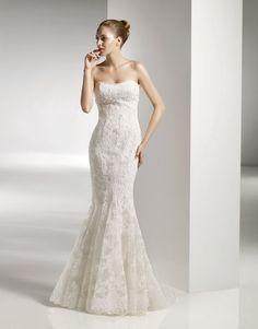 Thanks to Erika for sharing Anjolique Wedding Dress STYLE #2056 www.anjolique.com