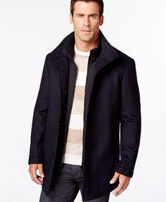 a61aca24a7 BOSS HUGO BOSS Coxtan Wool and Cashmere Coat - Black Friday Specials - Men  - Macy s
