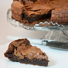 No Flour, No Problem....Craggy Chocolate Cake with only 4 ingredients...