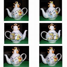 Disney Tigger Eeyore Winnie Teapot Dish Washer safe in Collectables, Kitchenalia, Teapots/ Kettles | eBay