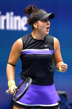 She the North! Bianca Andreescu VS Serena Williams US Open 2019 Highlights Pro Tennis, Tennis Center, Billie Jean King, Us Open, Opening Day, Serena Williams, Tennis Players, Sports News, United States
