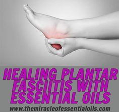 Did you know that many people are successfully using essential oils for plantar fasciitis, heel spur, foot arthritis and more? Find out the best natural and essential oil techniques to use to restore your feet.