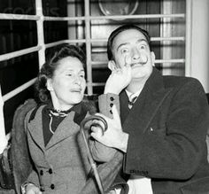ALVADOR DALI and Images of GALA · 2
