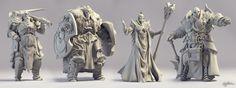 ArtStation - Demigods Rising - Mini-figurines Batch 3, Marco Plouffe
