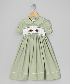 Take a look at this Green Squirrel Dress - Infant, Toddler & Girls by Sweet Dreams on #zulily today!