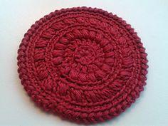 Ravelry: Fancy coaster pattern by Sarah ter Haak