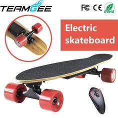 Four 4 Wheel Electric Skateboard Single Motor Electric Skateboard Hoverboard Electric Overboard Longboard Giroskuter Volante Four 4, Electric Skateboard, Mobiles, Computers, Bluetooth, Headphones, Happy Birthday, Xmas, Led