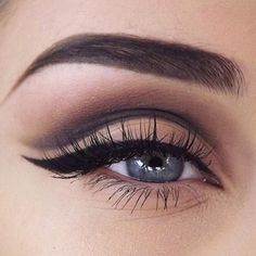 """Love this look!  @ginsmakeup #hudabeauty"""