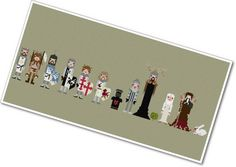 Pixel People  Monty Python & the Holy Grail  by weelittlestitches, $12.00