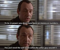 -Kevin Spacey as ****** **** in The Usual Suspects (1995)